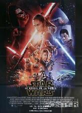 STAR WARS THE FORCE AWAKENS - ORIGINAL REGULAR LARGE FRENCH MOVIE POSTER