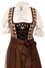 Germany,German,Trachten,Oktoberfest,Edelweiss,Dirndl Dress,3-pc.Sz.6,Browns.FREE