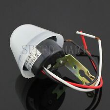 AC 220V 10A Adjustable Light Sensor Auto Control Switch Day off Night on