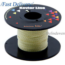 100ft 250lb Braided Kevlar Line Survival Cord for Camping Sports Fishing Kite