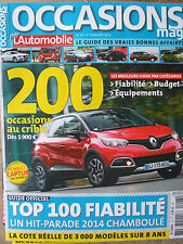 L'AUTOMOBILE Occasions mag n°43 (4eme Tr. 2014) 200 occasions au crible