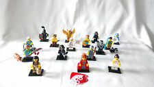 LEGO MINIFIGURES Series 15 Complete Set of 16 Characters.