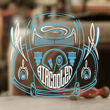 Aircooled engine pinstriping sticker decal beetle bus bug splitscreen blue