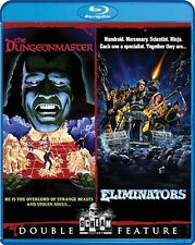THE DUNGEONMASTER + ELIMINATORS New Sealed Blu-ray Double Feature