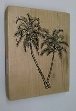PSX Rubber Stamp K-1451 Palm Tree Coconut Botanical Palms Tropical Trees
