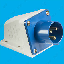16A 240V 3 Pin Industrial Caravan Appliance Ceeform IP44 Inlet Male Socket