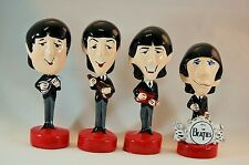 Beatles Cartoon Caricature FIGURES SET Import Figurines Very Limited Ships Free