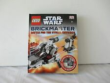 Lego Star Wars Brickmaster Battle For The Stolen Crystals Book & 180+ Pieces New