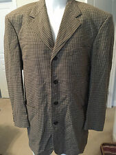 RARE SUIT JACKET TAILORED FOR CALBERT CHEANEY CHECKERED PLAYER OWNED BULLETS
