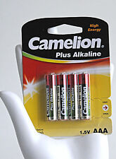 Camelion Plus AAA Micro Alcaline Power Battery lr03 4er Pack batterie universale