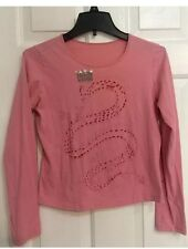 Ladies Harvey Nichols London Pink Top Blouse - EUC Size Large