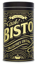 COLLECTOR'S LIMITED EDITION BISTO GRAVY GRANULES TIN CADDY BLACK/GOLD