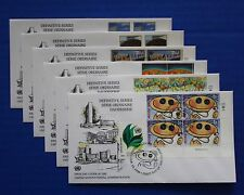United Nations - 1998 Definitive Series IB4 FDC set