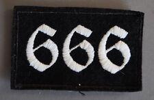 666  Biker Patch Triker