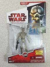 STAR WARS THE CLONE WARS RED CARD 4A-7 WITH GLITTERING EYES