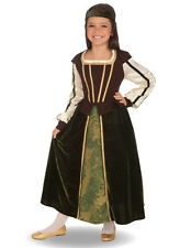 Girls Maid Marion Costume Renaissance Storybook Fairy Tale  Child's Size L 12-14