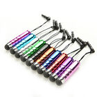 10x Mini Metal Touch Stylus Pen For Cellphone Tablet iPhone6 iPad5 Samsung HTC G