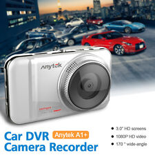 Anytek A1 1080P 30fps FHD H.264 MOV 4X Digital Zoom Car DVR Camera Recorder Dash