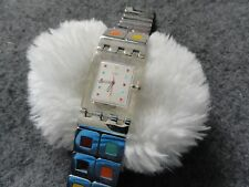 Swiss Made Swatch Watch with a Unique Band