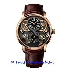 NEW Audemars Piguet Chronometer with Escapement $212,500.00 18k Rose Gold watch.