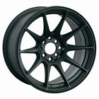 17X8.25 XXR 527 5X100 FLAT BLACK WHEEL FITS AUDI TT VW JETTA GOLF PASSAT BEETLE