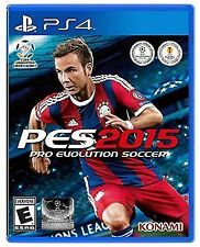 Pro Evolution Soccer PES 2015 (Sony PlayStation 4, 2014) Brand NEW Sealed