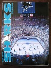 1991-92 SAN JOSE SHARKS NHL Hockey Game Program Vol 1 No 4  Donald P STURTZ