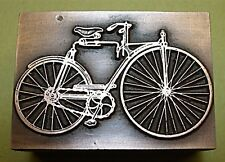 """OLD VICTORIAN BICYCLE"" PRINTING BLOCK."