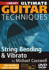 LICK LIBRARY ULTIMATE GUITAR TECHNIQUES STRING BENDING & VIBRATO Learn Play DVD