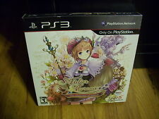 NEW ATELIER RORONA THE ALCHEMIST OF ARLAND PREMIUM EDITION WITH ARTBOOK PS3