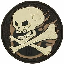 MAXPEDITION Rubber PVC Velcro 3D Patch - SKULA - ARID SKULL
