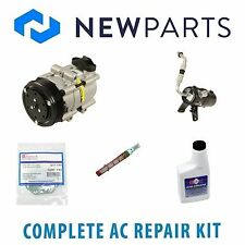 Ford F-150 2005-2006 4.2L Complete A/C Repair Kit With NEW Compressor & Clutch