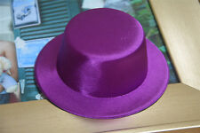 Satin Mini Top Hat Millinery Decorate DIY Making Party Hat  A087