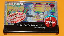 "1x BASF Special Series ""Coca Cola"" 90 Tape I Cassette Tape + NEW & SEALED +"