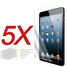 5X Clear LCD Screen Protector Cover Film Guard For Apple New iPad Mini 1 2 3