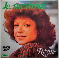 "12"" FR**REGINE - JE SURVIVRAI / NEVER STOP DANCING (CARRERE '79)***23162"
