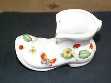 Vintage james kent old foley & fraise papillon posy boot made in england