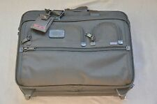 TUMI Alpha Business Deluxe Wheeled Briefcase 26127DH