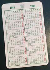 1983 Vintage ROLEX Calendar GMT Master 16800 6263 16758 6265 1655 5513 1665 OEM