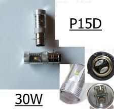 2 AMPOULE H6 / H6M / P15D 30W A 6 LED CREE DE 5W