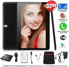 "32GB 10.1"" Tablet PC 3G Unlocked Android Quad Core Phone Call Dual SIMs 2GB RAM"