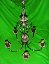 5 LIGHT BLACK CHANDALIER Stylish Home Lighting Living Room Dining Room Bedroom