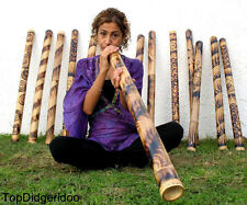 "39""/100cm DIDGERIDOO ROASTED BURNS NATIVE HANDWORK didje,dijeridu,didgeridu,dig"