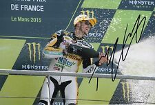 Thomas Luthi Hand Signed 12x8 Photo Interwetten Kalex Moto2 2015 MOTOGP 2.