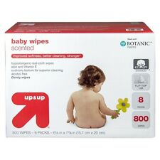 up & up Baby Wipes Refill Pack - Scented - 800 ct
