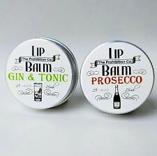 Prosecco and Gin & Tonic Lip Balm set by The Prohibition Co. Mother's Day Gift!