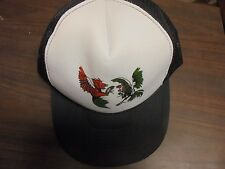 Mohr's Men's BLACK ONE SIZE FITS ALL Game Fighting  COCK ROOSTER Game Foul Hat