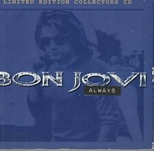 BON JOVI :Always ....4 TRACK,  LIMITED EDITION COLLECTORS .CD SINGLE