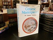 """""""Ceramic Masterpieces"""" Art, Structure, Technology Illustrated HBDJ 1986 First Ed"""
