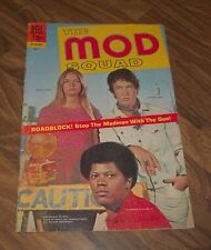 THE MOD SQUAD #5 DELL COMIC 1970 IN VG PHOTO COVER TV TIE-IN